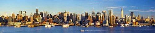 Foto di Midtown Manhattan Skyline, New York - Poster e Stampe su tela, alluminio o vetro acrilico - Riproduzioni di quadri in vari
