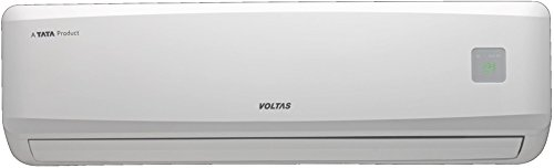 Voltas 1 Ton 2 Star Split AC (Copper, 122 DYa, White)