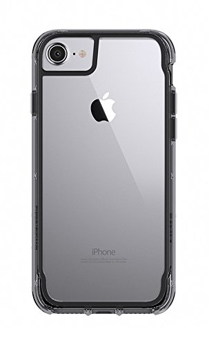 Griffin Survivor Summit Custodia per iPhone 7/7 Plus, Nero Nero/Grigio/Chiaro
