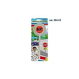 Teorema- Mr. Boy-Posto di Blocco Paletta Agente Speciale, Multicolore, 61761
