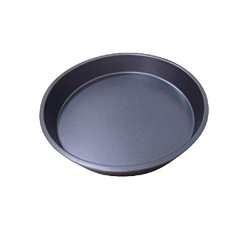 FIOLTY LanLan 8 Zoll / 9 Zoll Hethy Durable Shlow Pizza Pan Runde Dish Non-Stick Pie Tray Küche Haus Bakeware Stahl: 8-Zoll-shlow Tablett China Pie Dish