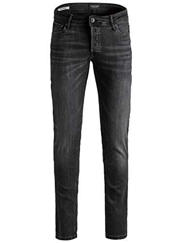JACK & JONES Herren Jeans Iglenn Black Denim 33 34 (Herren Jean Label Black)
