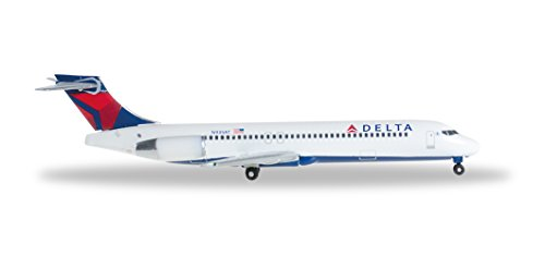 Herpa 528733 – Delta Air Lines Boeing 717, Fahrzeug, mehrfarbig