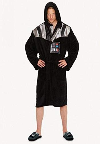 Star Wars Darth Vader Outfit Adult Fleece Bathrobe