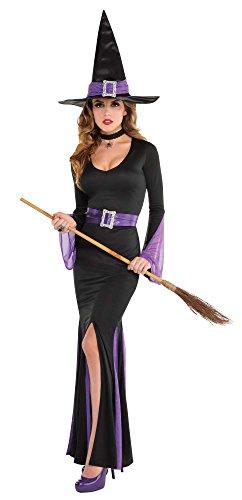 Amscan 849717 Costume Kostüm schwarz