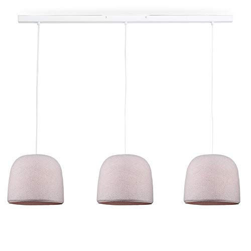 Rail Blanc 3 Cloches Dragee
