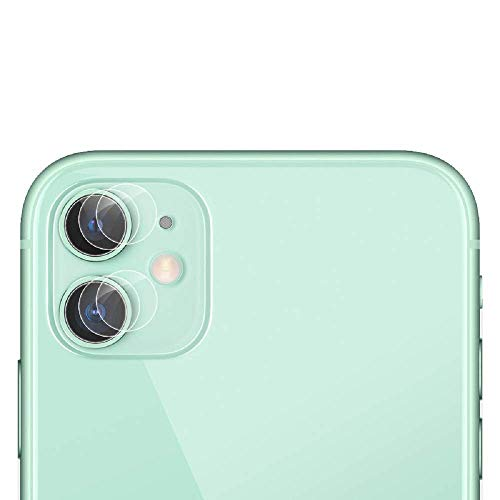 Cámara Trasera Lente Protector de Pantalla para iPhone 11 2019 [3 Piezas], 9H Dureza Alta Definicion Sin Burbujas Cristal Templado Cámara Protector de