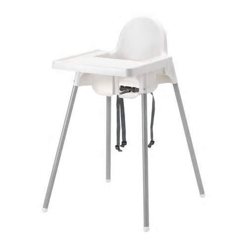IKEA MARIUS Stapelhocker 45cm Sitzhöhe Stahl (schwarz)
