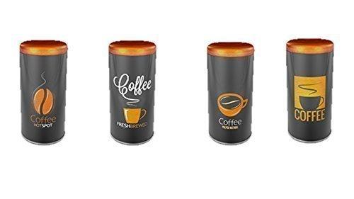James Premium Paddose für 18 Kaffeepads, neues Design, Dose, Pad, 4er Pack