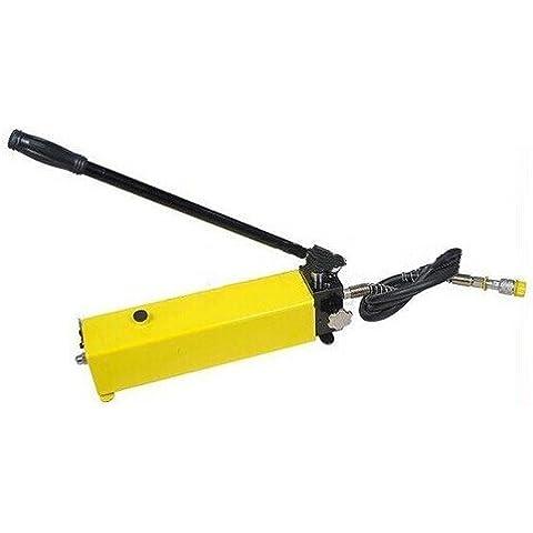 Bomba hidráulica Manual Gowe mediante bomba hidráulica de aceite hidráulico bomba puede con cabeza dividida unidad hidráulica herramientas 3300cc