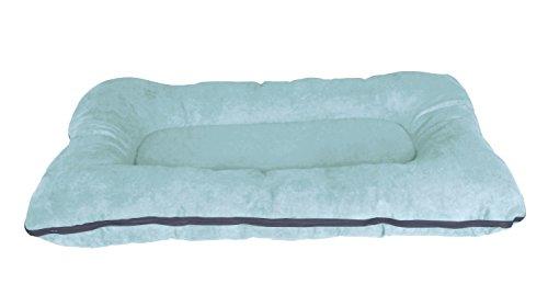 Letto per cani / cuscino per cani XXL 120x80 cm, verde menta, materasso per cani