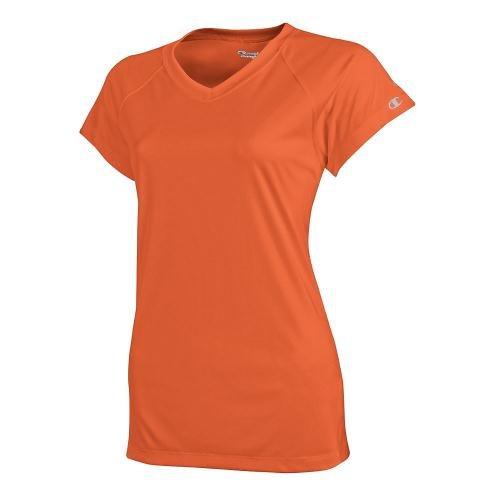 Champion Double Dry T-shirt (Champion Mens Double Dry® Interlock T-Shirt (CW22) -ORANGE -L)