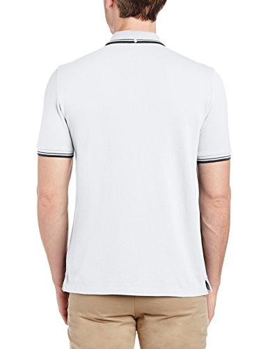 Ben Sherman Herren Poloshirt MC11485 Weiß (bright A47)