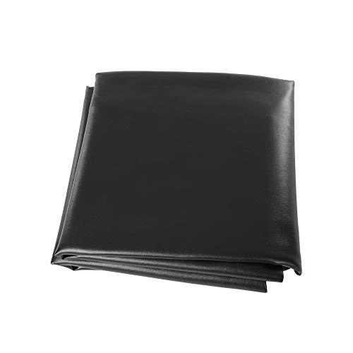 Zerone Tischabdeckung, 2 Farben 8ft ausgestattet Snooker/Billardtisch Wasserdichter Staubschutz (Schwarz)