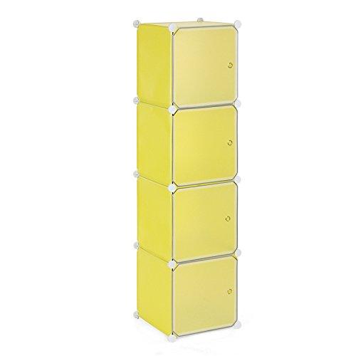 songmics-cubi-armadio-armadietto-guardaroba-scaffale-scarpiera-mobiletto-da-bagno-giallo-lpc04y