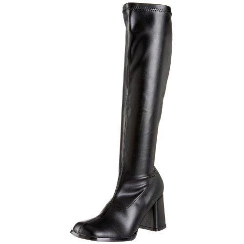 Damen Stiefel, schwarz (Blk Str Pu), 42 EU ()