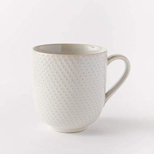 njhswlti Foulard rayé Vintage Ancien à la Maison/Tasse à thé, Tasse de Particules Deux