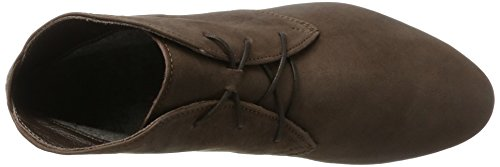 Think Guad, Stivali Desert Boots Donna Marrone (Schoko 45)