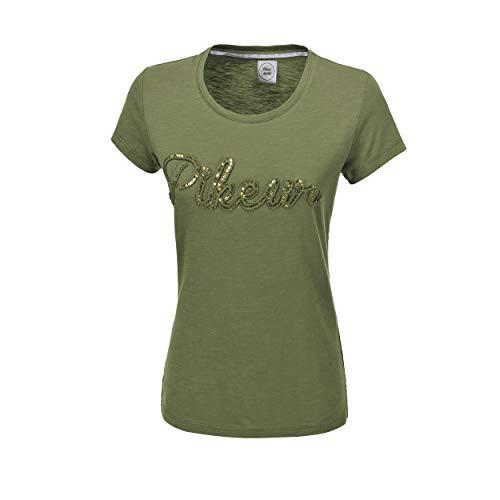 Pikeur Damen T-Shirt Wanda DOB in 4 Farben, Größe:40, Farbe:Oliv