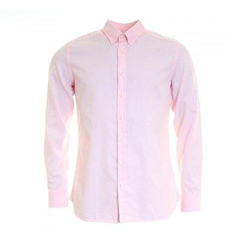 Hackett Herren Freizeithemd GMT DYED OXFORD Lg/Pink