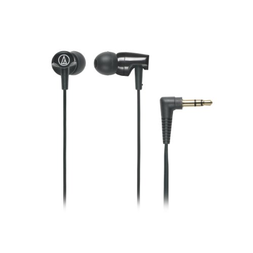 Audio-Technica ATH-CLR100BK In-Ear Headphones (Black)