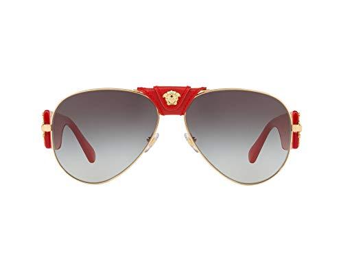 Ray-Ban Herren 0VE2150Q Sonnenbrille, Gold, 62