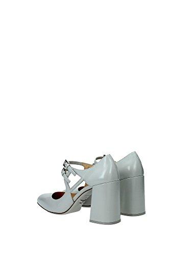 1I199GCRISTALLO Prada Sandale Femme Cuir Gris Gris