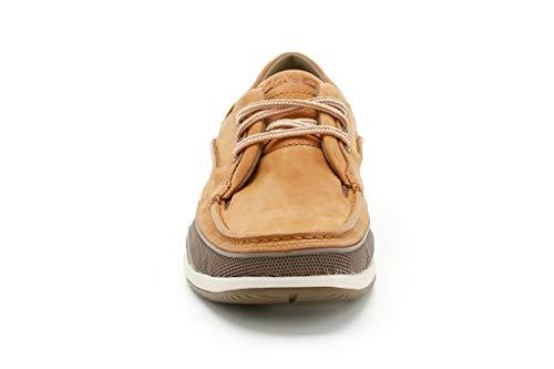 Clarks Orson Lace 20348659, Scarpe da barca uomo, Marrone (Braun (Tan Leather)), 39.5