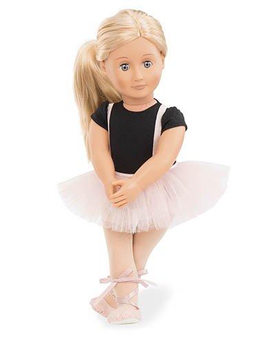 Our Generation BD31076Z - OG - Violet Anna Puppe Ballerina, 46 cm