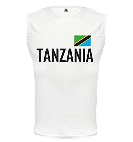 buXsbaum® Tank Top Tansania White-