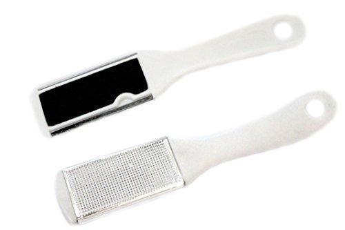 Peau morte Callus supprimer 2 - côté blanc pied Pédicure Râpe brosse Fichier disque rugueuse