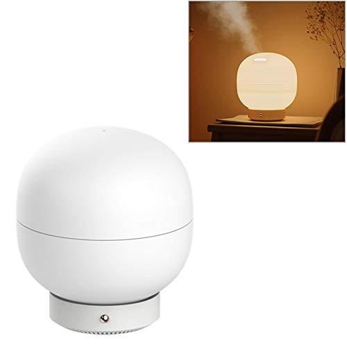 Lanbinxiang@ 3life-205 12W Aroma-Luftbefeuchter, Kapazität 500ml, DC 24V, Aroma Mist Diffusor Zerstäuber für ätherisches Öl, mit LED-Leuchten, Büro, Schlafzimmer, amerikanischer Stecker -