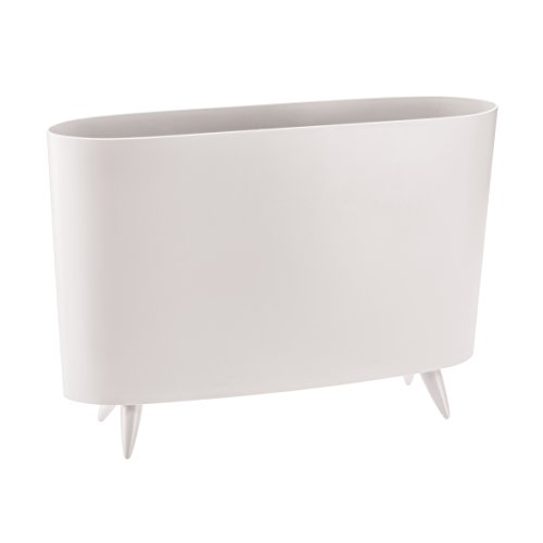 koziol range-revues Milano, thermoplastique, blanc, 12 x 45,7 x 31,5 cm