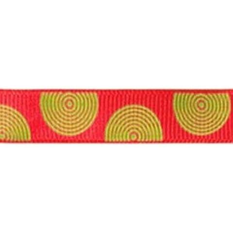 Nastro stampato spirale mm. 13 Rosso x 1m