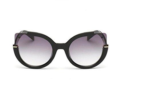WANGMIN® Polarisierte Sonnenbrille-Weinlese-Art- Und Weisekatze-Augen-Sonne-Gläser Für Frauen Uv400 Qualität Übergroße Damen-Sonnenbrille-Frauen-Marken-Designer , A (Damen-unterwäsche Gucci)