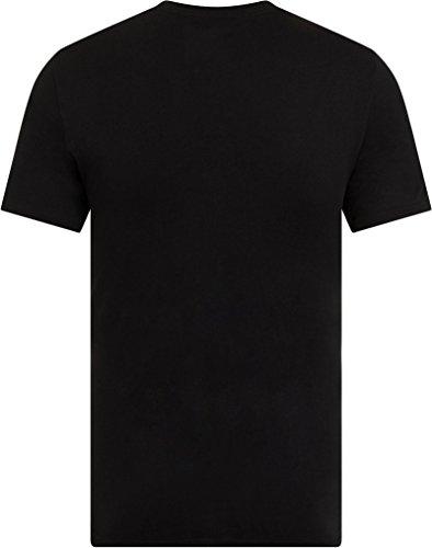 Converse Herren Kern BoxStar Graphic T-Shirt, Weiß Black