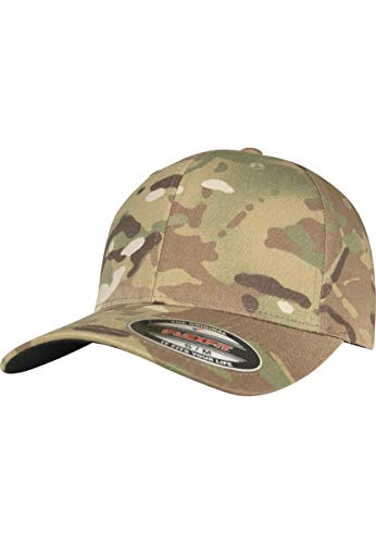 Flexfit MultiCam® Cap Camouflage Kappe mit elastischem Flex-Band
