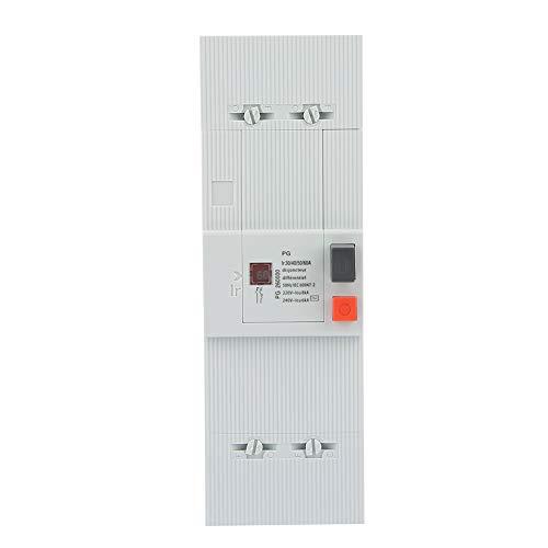 Interrupteur pneumatique protection pour disjoncteur bipolaire 30-60A 50Hz / 60Hz