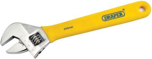 Draper DIY Series 5772 250 mm Clé à molette réglable Grip doux