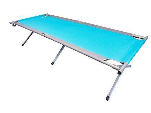 Stand Einstellbar Hängematte (Uquip Feldbett Cozy L, 205 x 78 x 51cm, schneller Auf- und Abbau, Belastbarkeit bis 120kg)