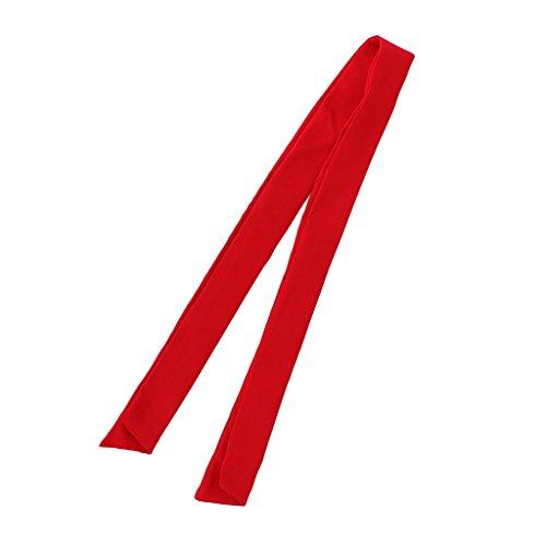 MagiDeal Chefkoch Chefköchin Unisex Krawatte Schal Halstuch aus Baumwolle Komfortabel Halstuch Nickituch Gastronomie Chef Uniform Bekleidung (1 Stück) - rot, Größe 1 (Uniform Chef Frauen)