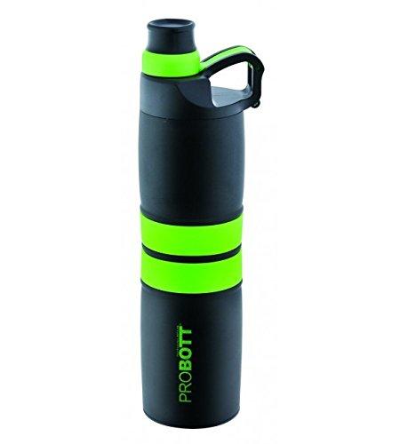 PROBOTT Stainless Steel Vacuum Sports Bottle PB621 Green