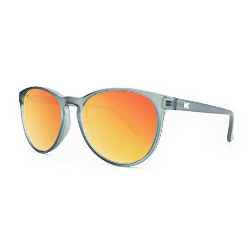 Knockaround Oval Sunglasses (Red Sunset) (MTGL1014)