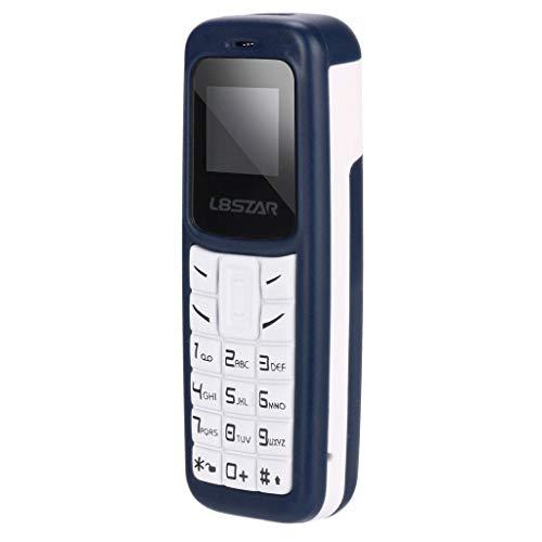 Seniorenhandy, Nourich Artfone Mobiltelefon Senioren Handy Großtastenhandy Smartphone Rentner Handy für Senioren Mini Quad Band freigeschaltetes Telefon Bluetooth Dialer Card Low Radiation (Blau)