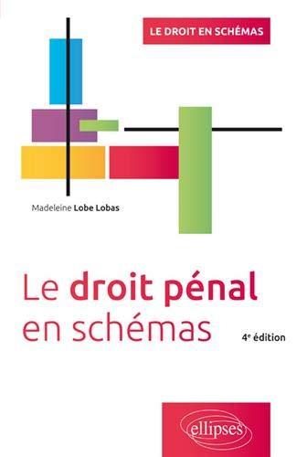 Le droit pénal en schémas - 4e édition par Madeleine Lobe Lobas