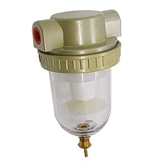 Großes Volumen 214210 Industrial Air Compressor Line Water Filter Separator Falle