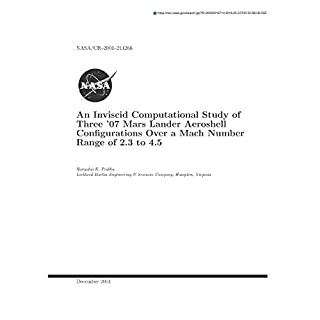An Inviscid Computational Study of Three '07 Mars Lander Aeroshell Configurations Over a Mach Number Range of 2.3 to 4.5
