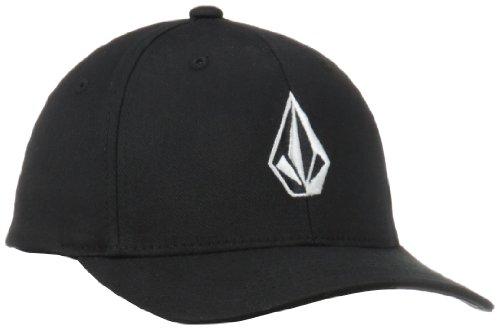 volcom-full-stone-xfit-hat-cappello-da-sole-da-bambini-e-ragazzi-neroblack-taglia-produttore-one-siz
