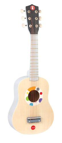 Imagen principal de Janod - Confetti, Guitarra de juguete de madera (J07625)