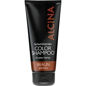 Alcina Color Shampoo Braun 200ml (Schwarze Haare, Shampoo)